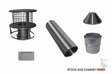 Woodburning Stove Flexible Flue Liner Kit
