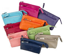 Prime Hide Soft Leather Small Coin Purse Great choice colourful Coin Purses 764