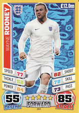Match Attax World Cup 2014 England France Germany Ghana Pick from List