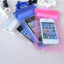 Transparent Waterproof Underwater Pouch Bag Dry Case Cover For i Phone PDA MP3