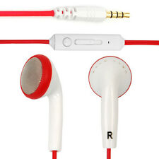 3.5mm In-ear Stereo Earphone Earbuds Headset Handsfree Remote Volume Control Mic