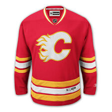 Calgary Flames REEBOK Premier NHL Hockey Third Red Jersey Men's SZ (S-2XL)
