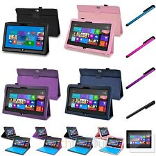 PU Leather Stand Flip Case Cover+Protector+Stylus For Microsoft Surface RT