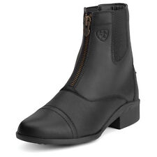 New Ariat Scout Ladies Zip Paddock Boots- Black- Various Sizes