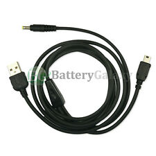 1X 2X 3X 4X 5X 10X Lot USB Charger Cable for Sony Reader PRS-300 505 600 700 900
