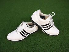 NEW ADIDAS PURE 360 GOLF SHOES (WHITE-BLACK) ADIDAS PURE 360 SHOES NEW
