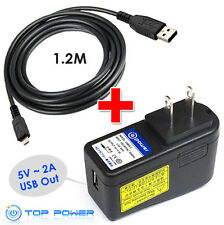 fr Sony eReader Ericsson Xperia Neo Cell phone tab USB Ac Adapter charger Supply