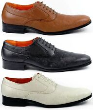 Ferro Aldo Mens Lace Up Wing Tip Oxford Dress Shoes w/ Leather lining M-109181