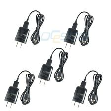 5x WALL TRAVEL CHARGER + USB DATA CABLE FOR For HTC EVO/Sensation/Inspire/Amaze