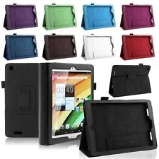 "Flip Stand PU Leather Folio Case Cover fr Acer Iconia A1 A1-830 7.9"" Inch Tablet"