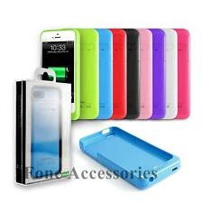 Portable iPhone 5 5S 2200mAh Juice Battery Rechargeable Power Pack External Case