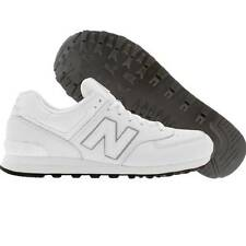 New Balance Classic 574 Aw Men's Sneakers White Leather Fashion Trainers 7-14
