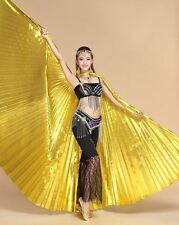 Isis Wings Egyptian Belly Dance Costume Fancy Wings(Isis wings + 2 sticks + bag)