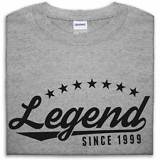 Legend Since 1999 T Shirt Kids 16 15 Funny 16th Birthday Present Gift Teenager