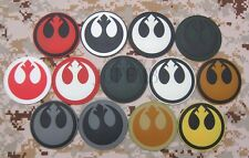 STAR WARS Rebel Alliance Tactical Military Morale 3D PVC Velcro Patch