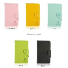 For Samsung Galaxy S2 II i9100 Magnetic Leather Wallet Card Holder Case Cover