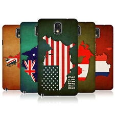HEAD CASE FLAG MAPS SNAP-ON BACK COVER FOR SAMSUNG GALAXY NOTE 3