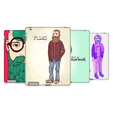 HEAD CASE OLD HIPSTERS SNAP-ON BACK COVER FOR APPLE iPAD 2
