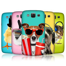 HEAD CASE FUNNY ANIMALS SNAP-ON BACK COVER FOR SAMSUNG GALAXY S3 III I9300