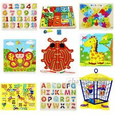 Maze Game Puzzle Educational Toy Learning Gift Kids Children