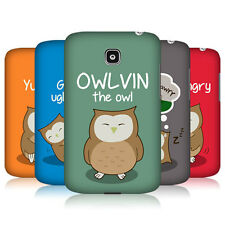HEAD CASE OWLVIN THE OWL SNAP-ON BACK COVER FOR LG OPTIMUS L3 II DUAL E435