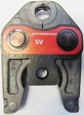 ROTHENBERGER Pressjaw Default selection V SV 12 15 18 22 28 35 Romax Presspliers