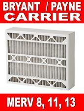 2 REPLACEMENT FILTERS BRYANT / CARRIER / PAYNE / BDP / TOTALINE / DAY & NIGHT
