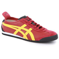 Onitsuka Tiger Mexico 66 Mens Womens Trainers Leather Black Blue Red New Shoes