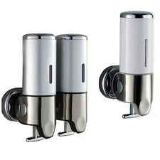 New 500ml/1000ml Lockable Soap/Shampoo Dispenser Lotion Pump Action Wall Mounted