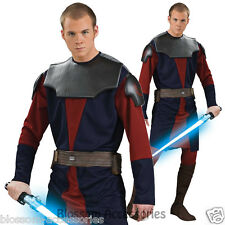C965 Star Wars Clone Wars Deluxe Anakin Skywalker Halloween Adult Mens Costume