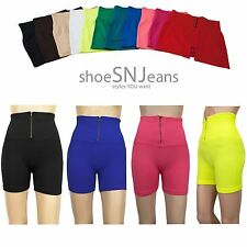 2 For $10 New Women High Waist Spandex Leggings Seamless Athletic Shorts