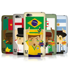 HEAD CASE FOOTBALL ENTHUSIAST PROTECTIVE SNAP-ON CASE FOR HTC ONE V