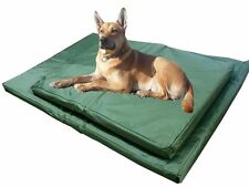 NEW WATERPROOF DOG CAT CUSHION PET BED WASHABLE MAT HARDWEARING & TOUGH FOAM M/L