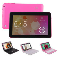 """iRulu 9""""Android 4.2 8GB Tablet Dual Core/Cam A20 Cortex-A7 WiFi Pink w/Keyboard"""