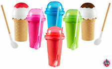 CHILLFACTOR SQUEEZE CUP SLUSHY FROZEN ICE DRINK & ICECREAM MAKER NEW & BOXED