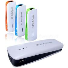 5in1 Portable 150Mbps 3G WIFI Mobile Wireless Router Hotspot Power Bank HYDG