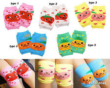 Cute baby bog girl Toddler crawl knee caps unisex legs protect cotton  0-3 years