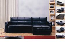 L SHAPE CORNER SOFA WHICH TURNS INTO A SOFA BED WITH STORAGE