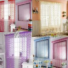 Loving Heart Tassel Curtain Drape Line String Window Door Wall Vestibule Balcony