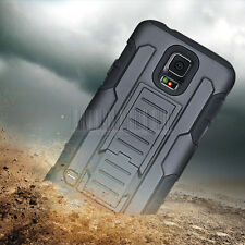 Rugged Hybrid Future Armor Impact Hard Case Belt Clip Holster Kickstand Cover