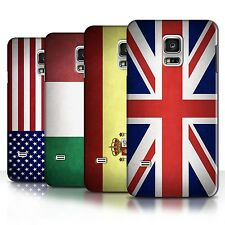 STUFF4 Phone Case/Back Cover for Samsung Galaxy S5 Mini /Flags