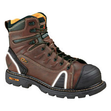 """Thorogood 804-4445 Men's 6"""" Plain Toe Lace Up Composite Safety Toe Work Boots"""
