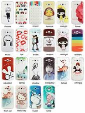 Colored Pattern Cover Case Skin For Samsung Galaxy Grand 2 G7106 +Free Film