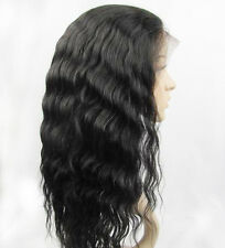 Instock Body Wave 100% Indian Remy Human Hair Full Lace Wigs with Boby Hair