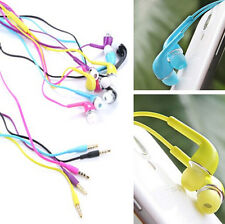 new hot 3.5mm Handsets Earphone W/Volume Control For Samsung Galaxy S4 i9500