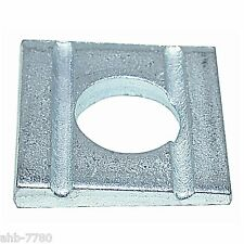 Professional Square Washer DIN 434 Galvanised Steel Tapered for U-Beam
