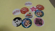 Pre Cut One Inch Bottle Cap Images! MOVIE GREASE FREE SHIP IN U.S.