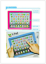 1pc English Learning Touch PC Tablet PC for Children Baby Educational W193-W194