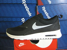 WMNS NIKE AIR MAX THEA BLACK-WOLF GREY-WHITE  599409 007
