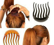 UE Comb Bun Maker Volume Inserts Hair Clip Bumpits Bouffant Ponytail Hair Useful